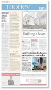 Article on Abierto Networks appeared in the Portsmouth Herald / Seacoast Sunday, June 16, 2013