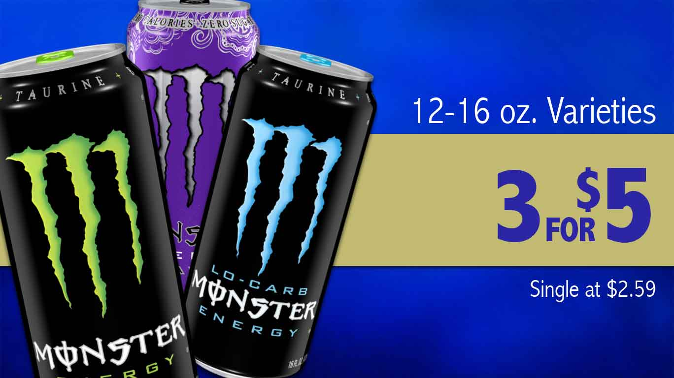 Monster Energy Ad
